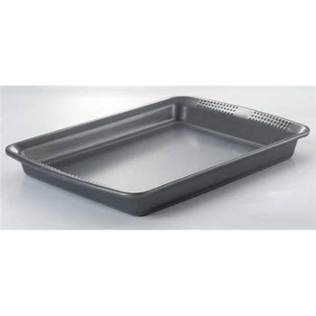 Soffritto Commercial 37 x 27cm Rectangular Oven Tray