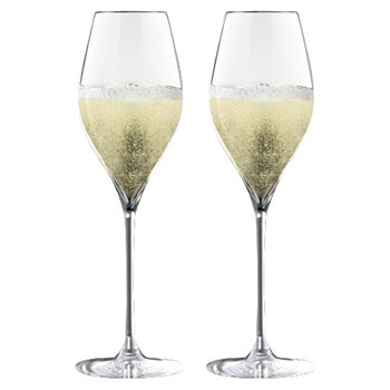 Cellar Premium Set of 2 Prosecco Glasses 320ml