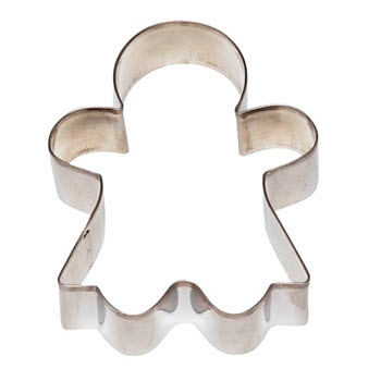 Soffritto Professional Bakeware Cookie Cutter Gingerbread Woman