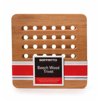 Soffritto Beechwood Trivet