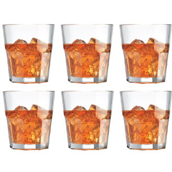 Cellar 280ml Facet Tumbler Glasses Set of 6