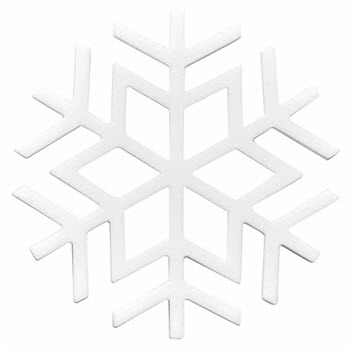 Scullery Be Merry Snowflake Trivet