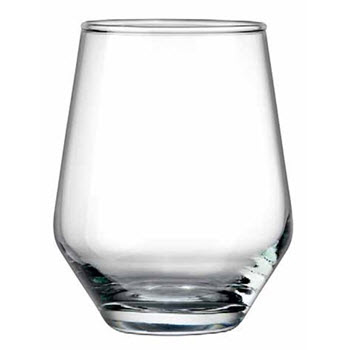 Ambrosia Stemless 400ml Wine Glass Set of 12