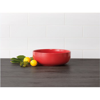Ambrosia Studio 28.5cm Round Bowl Red