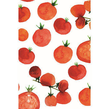 Ambrosia Tomato Set of 3 Tea Towel