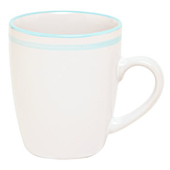 Ambrosia Remi 355ml Stripe Mug Tiffany