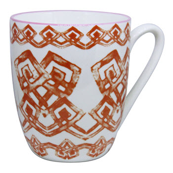 Ambrosia Koko Darcy 350ml Mug Aztec Orange