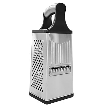 Soffritto A Series 6 Side Box Grater Stainless Steel