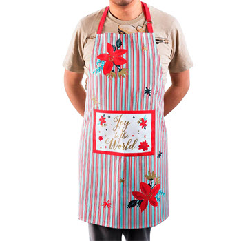 Ambrosia Joy To The World 70 x 80cm Apron