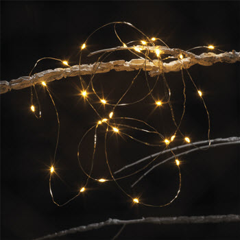 Ambrosia Festive Medley 2.9m LED String Lights Silver