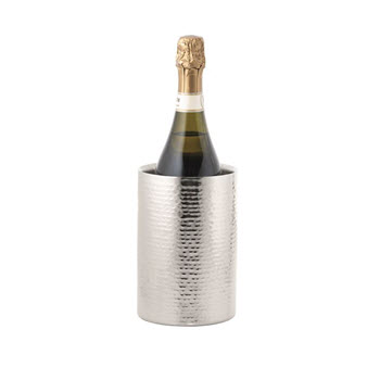Cellar Premium Hammered Double Wall Wine Cooler 18cm