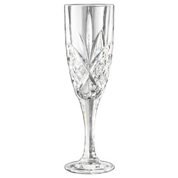 Cellar Luxe Moulded Flute Glass Set of 2