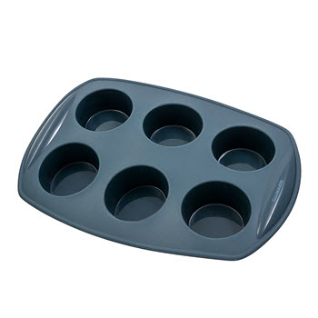 Soffritto Commercial Silicone Muffin Pan 6 Cup