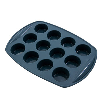 Soffritto Commercial Silicone Mini Muffin Pan 12 Cup