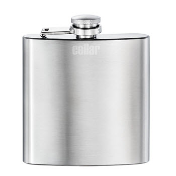 Cellar Stainless Steel Hip Flask 170ML