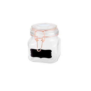 Ambrosia Clip Glass Canister 700ml