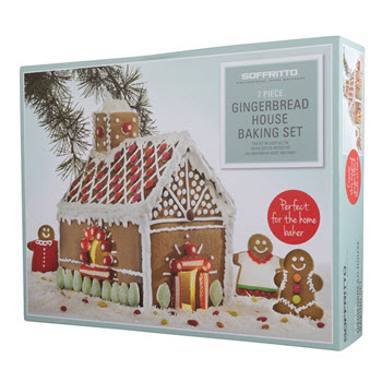 Soffritto Christmas Gingerbread House Set