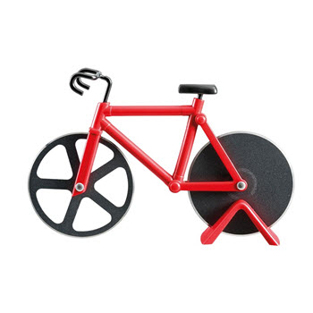 Soffritto Bike Pizza Cutter