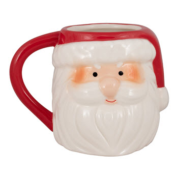 Ambrosia Jingle Bells Santa Mug