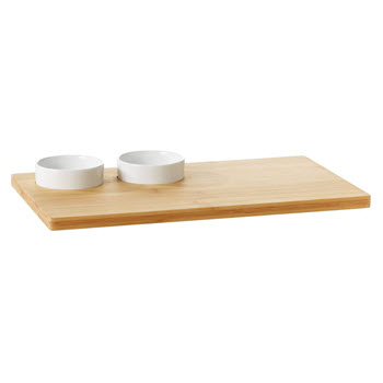 Ambrosia Karira Board with 2 x Bowls