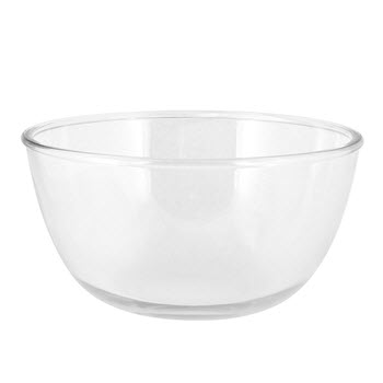 Soffritto Pure Glass Mixing Bowl 2L