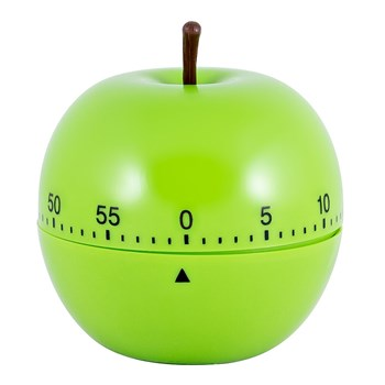 Scullery Essentials Plastic 60 Minute Mechanical Timer Apple