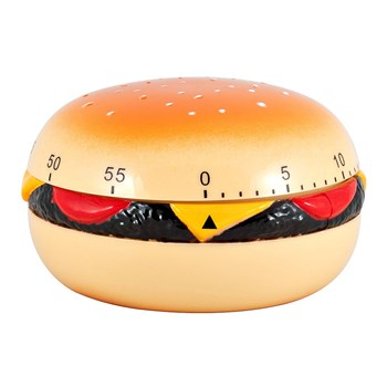 Scullery Essentials Plastic 60 Minute Mechanical Timer Burger