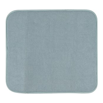 Scullery Pura Polyester & Foam Dish Drying Mat 40 x 45cm Blue