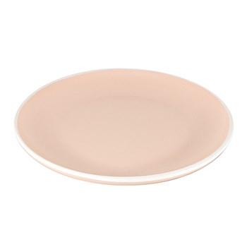Ambrosia Circuit Stoneware Dinner Plate 27cm Pink