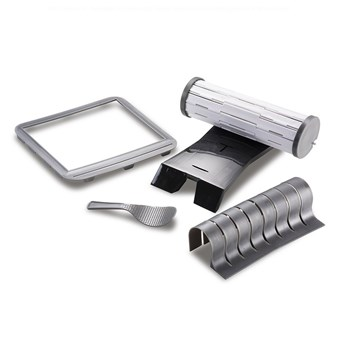 Scullery Sushi Maker Set 25 x 22 x 7cm Grey