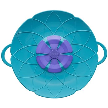 Scullery Kolori Silicone No Spill Lid 29.5cm Teal