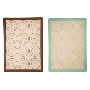 Soffritto Professional Bake 2 Piece Silicone Baking Mats Set