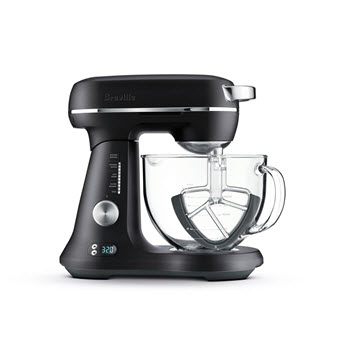 Breville The Bakery Boss Single Bowl Stand Mixer Black Truffle