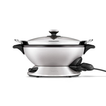 Breville The Hot Wok and Steam Electric Wok 8L