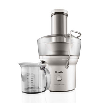 Breville The Juice Fountain Compact Juicer Silver