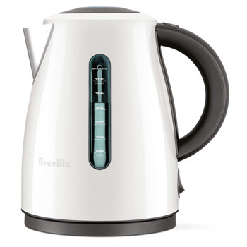 Breville Clear Kettle Soft Top Coconut