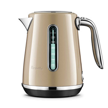 Breville Soft Top Luxe Kettle Royal Champagne