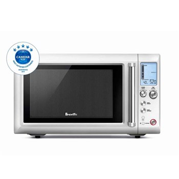 Breville The Quick Touch Compact Microwave 25L/900W Silver