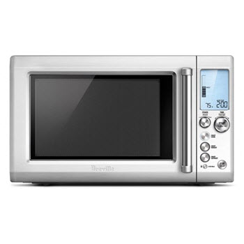 Breville The Quick Touch Microwave Stainless Steel
