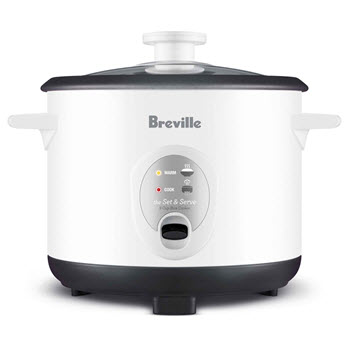 Breville Set & Serve Rice Cooker & Steamer