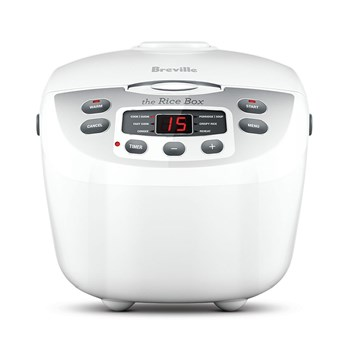 Breville Rice Master Stainless Steel 10 Cup Combination Rice Cooker & Steamer