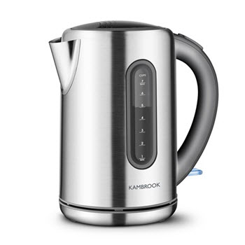 Kambrook Stainless Steel 1.7L Kettle Silver