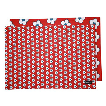 Christopher Vine Cotton Bud Red Placemat