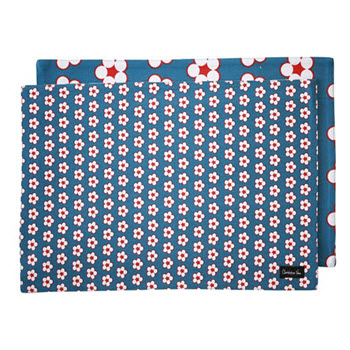 Christopher Vine Cotton Bud Navy Placemat