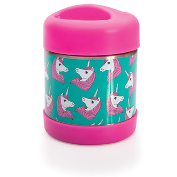 IS Gift Fun Times Insulated Food Container Unicorn