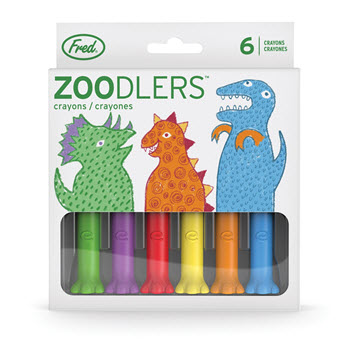 Fred Zoodlers Dino Crayons