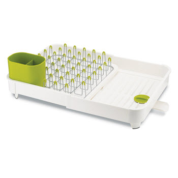 Joseph Joseph Extend Expandable Dish Rack White