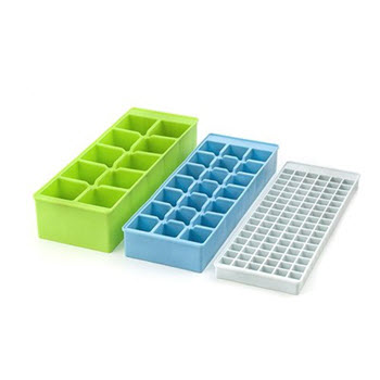 Kikkerland Set of 3 Stackable Ice Trays