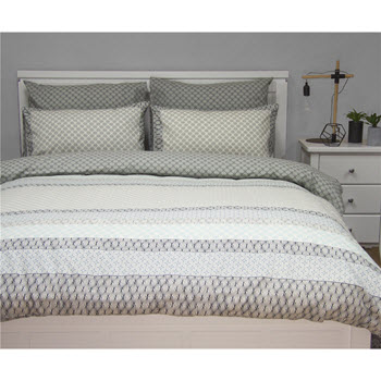 Apartmento Inga Printed Quilted Quilt Cover Queen Set