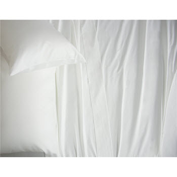 Ardor 2500TC Cotton Rich White Sheet Set Queen